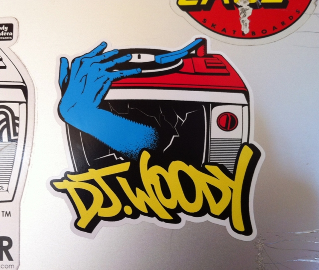 sticker on lappy