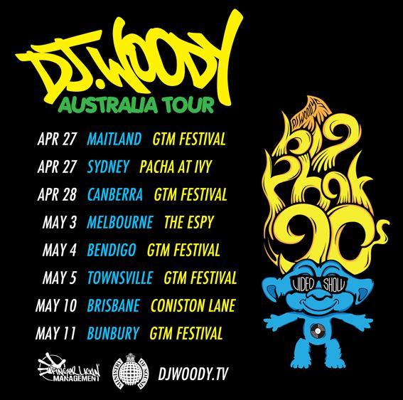 90's Oz tour dates